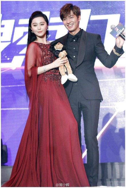 范冰冰、吴奇隆、刘诗诗等中华圈影视巨星,李敏镐作为韩国代表,