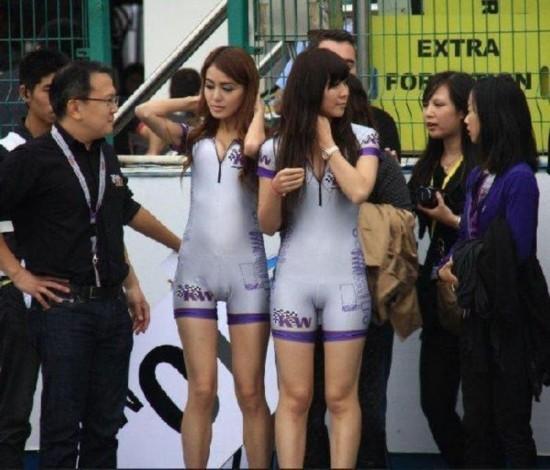 赛场上那些令人尴尬的紧身裤