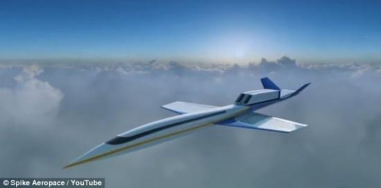 超音速私人喷气飞机:时速1770公里(组图)【4】