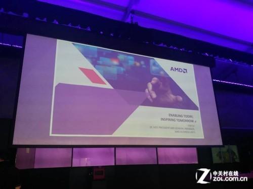 幕上打出的全新标语-Kaveri核心APU登场 AMD发布会全程直击