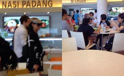 柏芝时尚潮搭吃新加坡国立大学饭堂