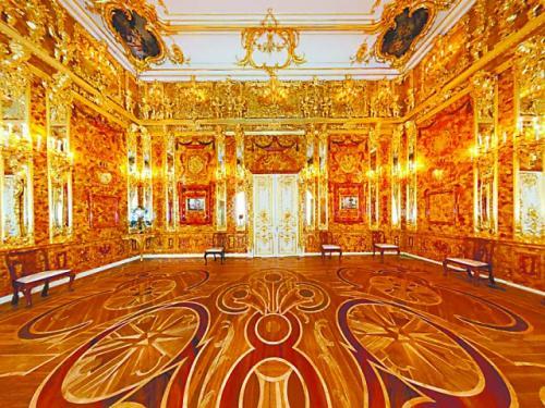 琥珀屋,俄罗斯用20年重现奇迹