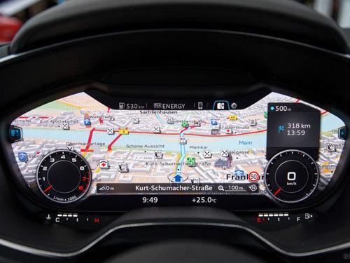 2015款奥迪TT内饰前瞻 高科技配置成亮点