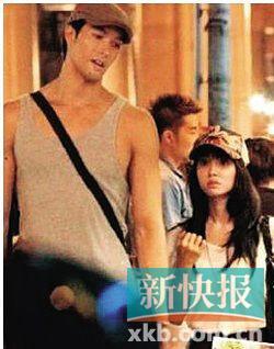 蔡依林锦荣酒店门口热聊甜蜜恩爱共返爱巢