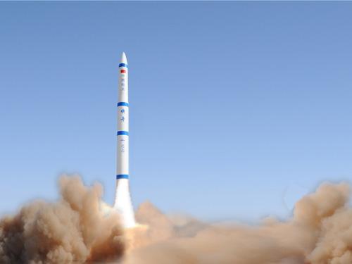 我国首个固体机动小型运载火箭快舟发射成功--科技--人民网