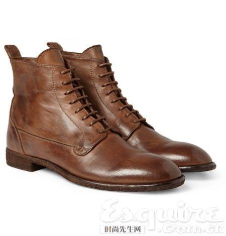 新年 入手 值得/做旧系带靴