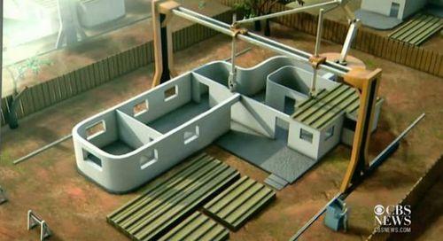 """美专家称可用3D打印机""""印""""出二百余平房屋(图)"""