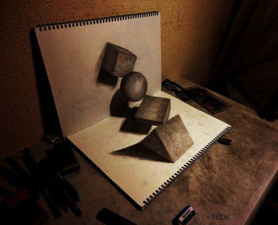 视频|3d铅笔画立体洞_突袭科技_突袭网