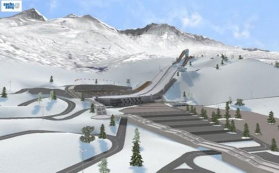 俄罗斯国家跳台滑雪中心(The