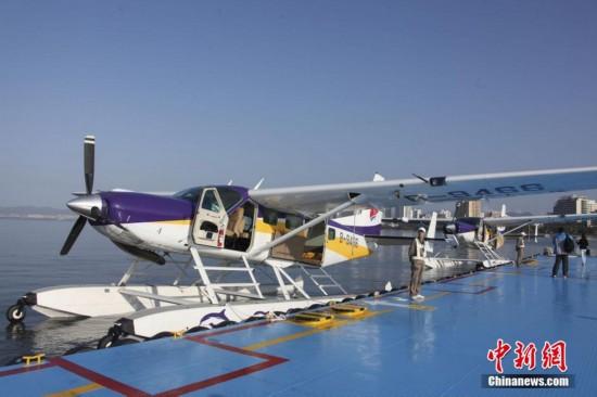 中国首架民用水上飞机三亚载客启航 可赴西沙旅游【5】