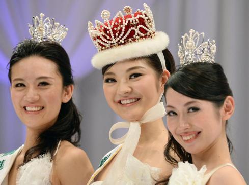 日本小姐冠军出炉