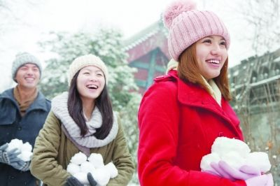 跟日本妹子学穿衣技巧:喝姜汤暖身
