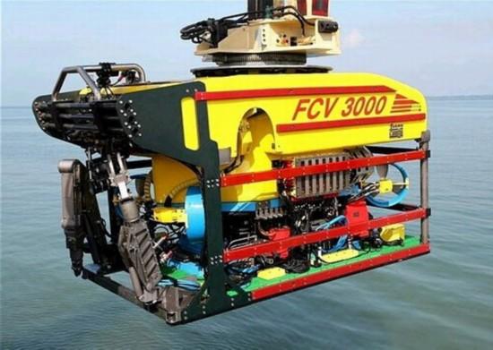 日本海上自卫队丢失的水下机器人的同型机(网页截图)
