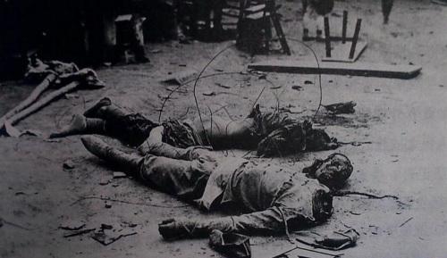 印尼屠杀华人死亡图片图片 98印尼华人惨案图片 十大 屠杀...
