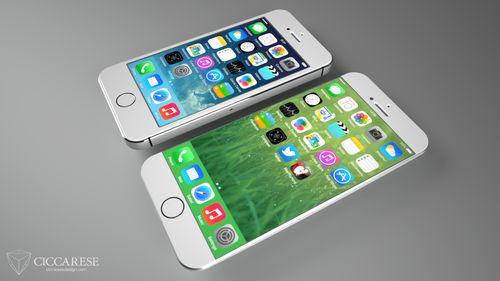 大屏无边框 iphone 6最新概念设计图