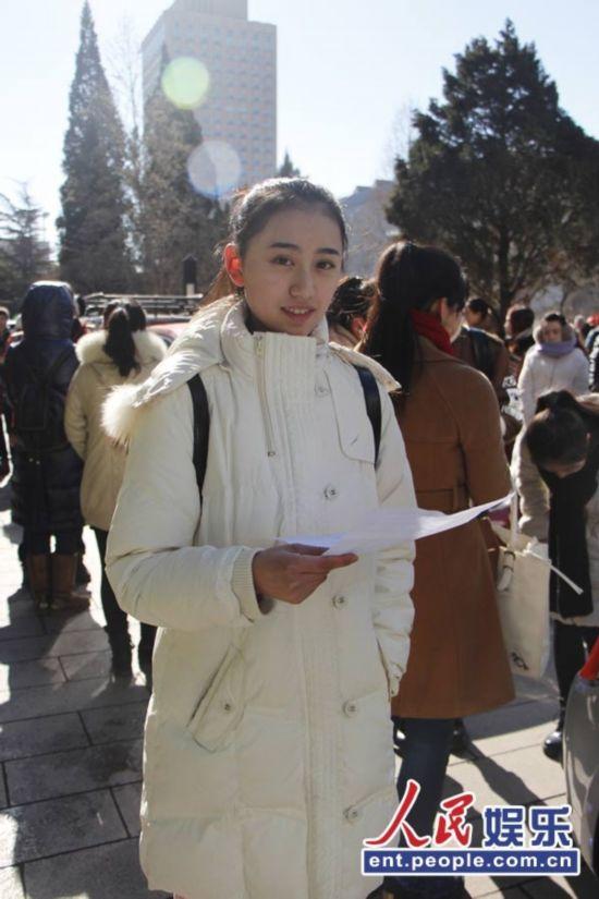 2014北影艺考初试 美女云集迷人眼组图【4】