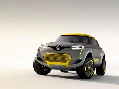 雷诺KWID概念车亮相印度 鸟巢式车舱