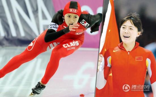 中国美女军团:速度滑冰队员王北星
