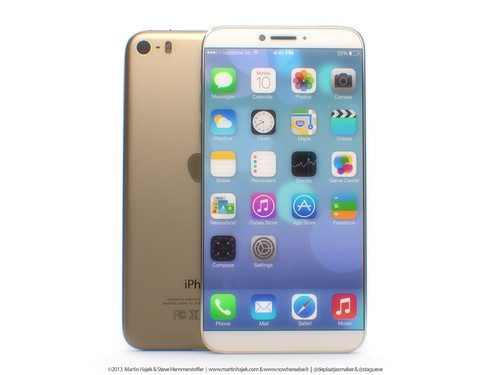 iPhone5s+iPad mini? iPhone6概念图曝光
