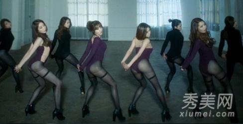 韩女子组合裸露臀部发布新歌mv