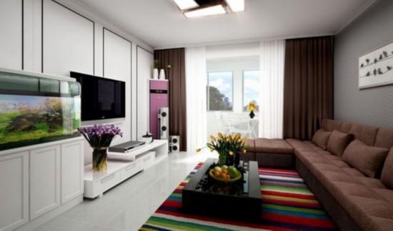 简约又省钱的装修 看80平米的小户型住宅设计
