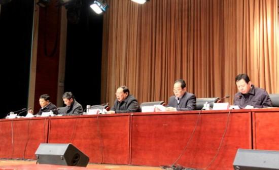 颍上县召开2013年度推进惩治和预防腐败体系