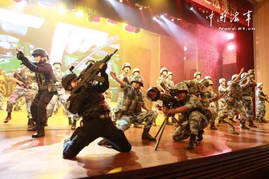 """中国 步枪/中国海军""""南海大舞台""""上突现神秘武器..."""