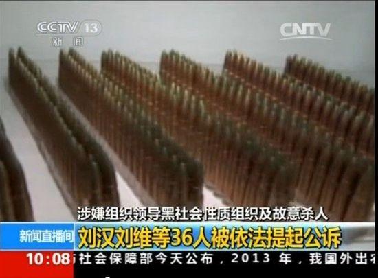 四川富豪刘汉涉黑团伙武器库曝光(图)--安徽频