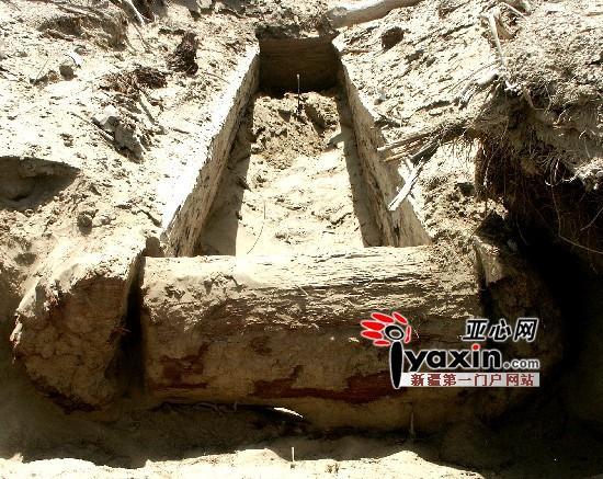 """新疆阿拉尔发现""""巨人""""墓葬 古人身高2.3米"""