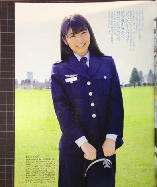 日本自卫队日历上制服诱惑的女兵【6】