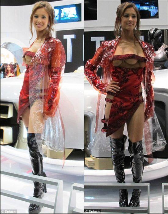 奇闻异事:长著三个乳房的美女模特【5】