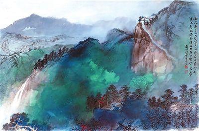 行风云人生之长路 观万里江山之大千 ——中国美术馆张大千艺术展