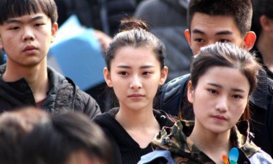 张柏芝/上戏美女艺考频撞脸或似张柏芝或像刘诗诗