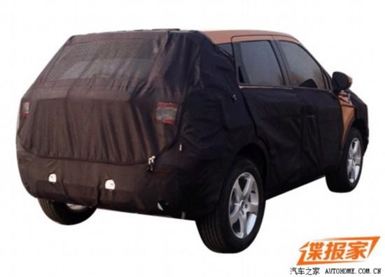 预计售8万起 中华全新小型SUV消息曝光高清图片