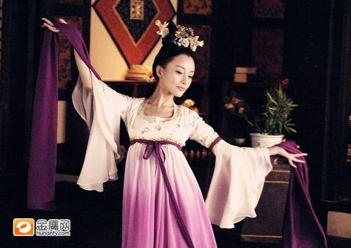 范冰冰胡静杨幂刘亦菲佟丽娅 最美古装女星排