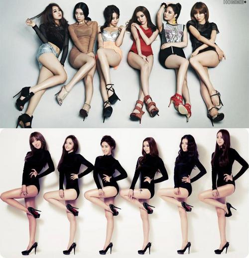 韩国女子组合dalshabet