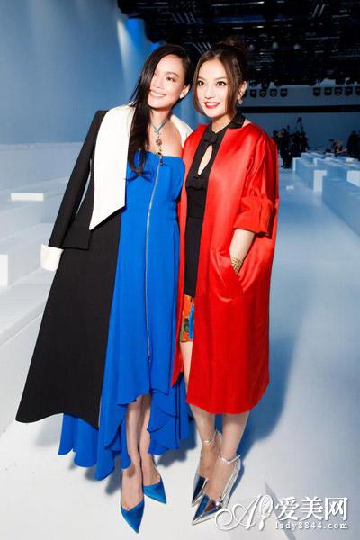 赵薇舒淇蕾哈娜领衔 Christian Dior前排嘉宾