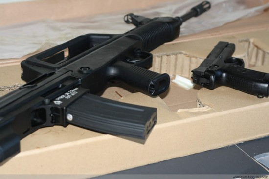 中国 步枪/[提要] 97式突击步枪是基于95式5.8毫米突击步枪发展而来的一款...