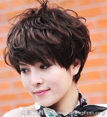 非造型主流好看时尚女生短发非血型短发图片天秤座的女生主流图片