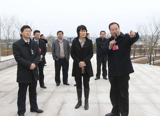 淮安 新城/原标题:淮安生态新城党政代表团来洪考察