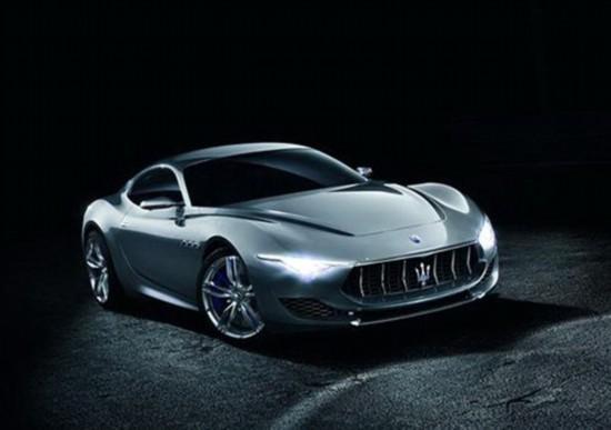 即将发布 疑似玛莎拉蒂GT概念车官图