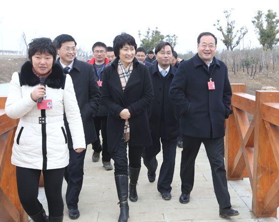 新城/2月28日,淮安生态新城党政代表团在淮安市委副秘书长、生态...