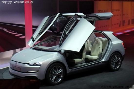 日内瓦车展:Giugiaro Clipper概念车