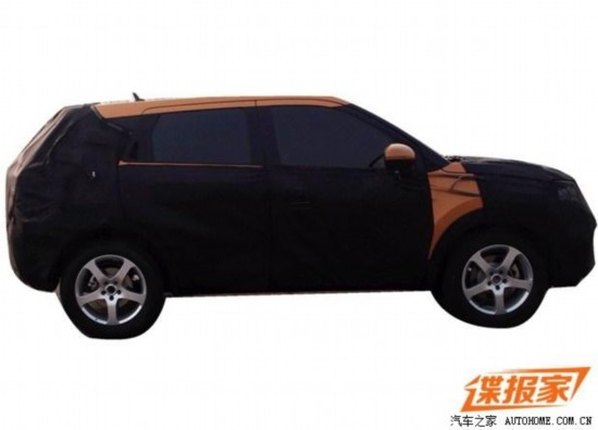 预计8万元起 中华全新SUV消息曝光高清图片