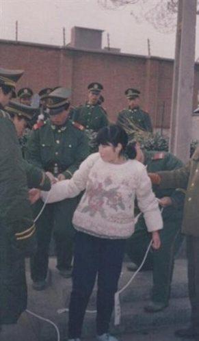 三十年来被枪决的美女死囚犯 枪决现场照曝光