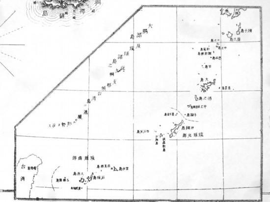 日甲午战争地图证明钓鱼岛属于中国 必须归还