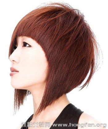 2014最新沙宣短发造型 沙宣短发发型图片