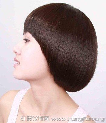 2014最新沙宣短发造型 沙宣短发发型图片【4】图片