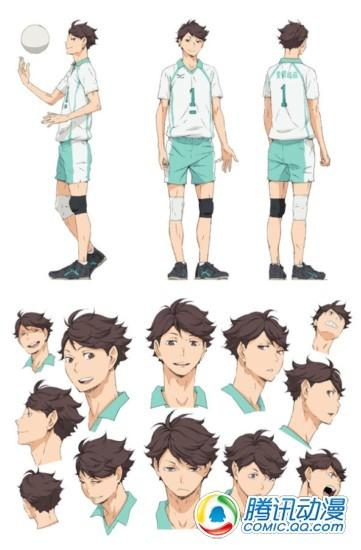 春季新番动画 排球 追加曝光角色设定图