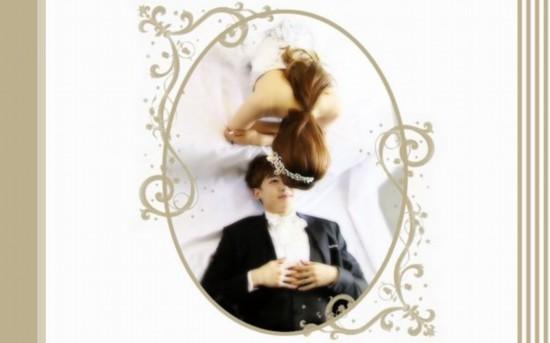 维尼夫妇婚纱照